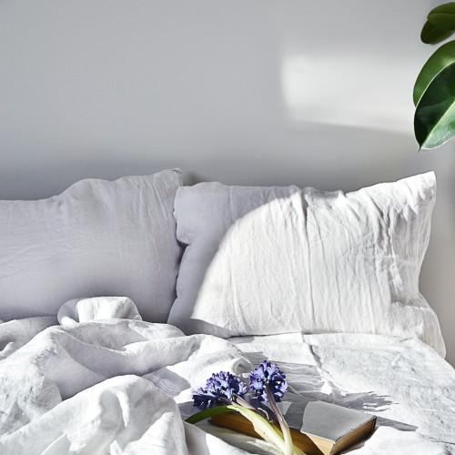 SIMPLE linen bed set (1)